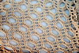 "Product picture triangular shawl ""hazelnut"" by Maschen mit Liebe at http://thepatternfactory.net"