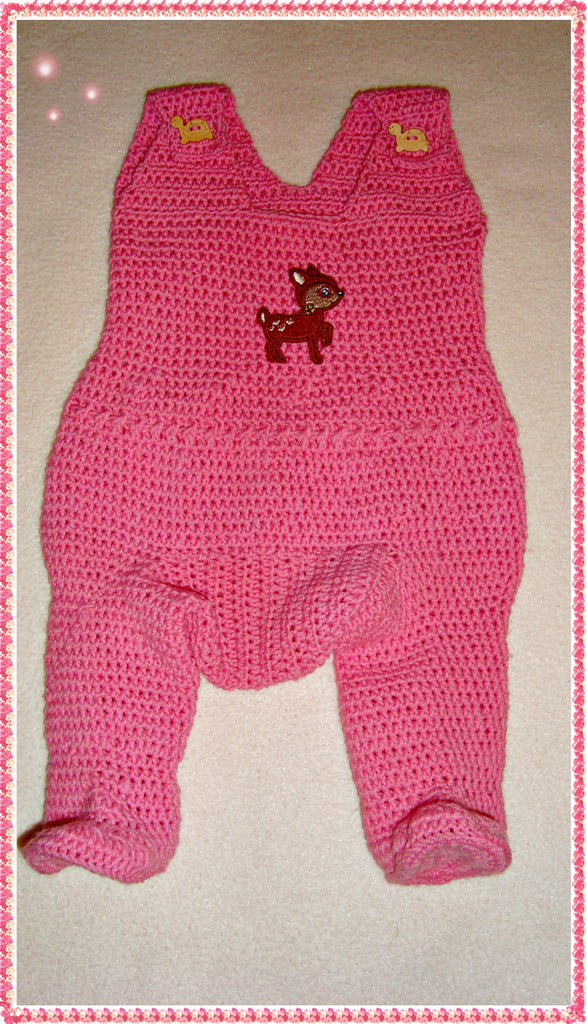 Baby oncie Crochet pattern from Puschis Häkelparadies Product picture at http://thepatternfactory.net