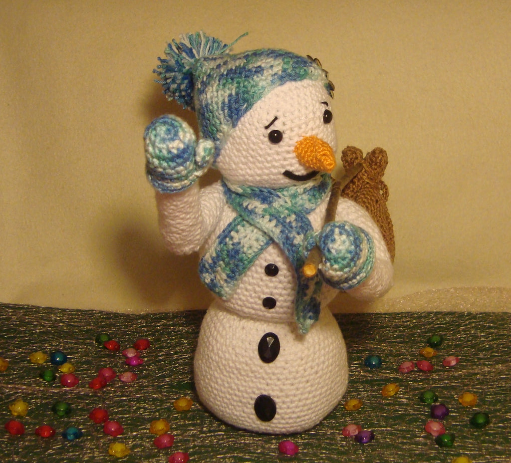 25 Free Amigurumi Snowman Crochet Patterns | Christmas crochet ... | 928x1024