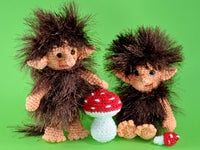 product picture Gnomes Aidan and Adana Crochet Pattern by lucygurumi at http://thepatternfactory.net