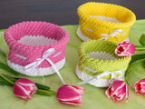 "Baskets ""Collector's Delight"" in 7 sizes, Storage Crochet Pattern product picture"
