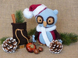 Emerson the Christmas Owl Product Picture by AramisvonK at http://thepatternfactory.net