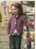 King Cole 4284 - Cardigans - Knitted Chunky - Product picture