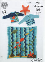 King Cole 9026 - under the sea - knitting - Product picture
