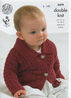 King Cole 3479 - Cardigan and more - knitting - Product picture
