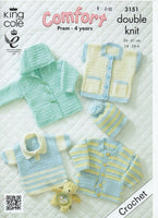 King Cole 3151 - Baby Garments - crochet - Product picture