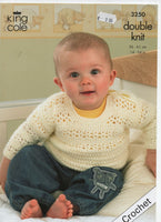 King Cole 3250 - Cardigan and more - Crochet - Product picture