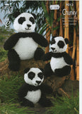 King Cole 9013 - Amigurumi - Panda - knit - Product picture