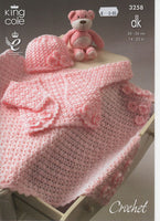 King Cole 3258 - Bolero and more - crochet - Product picture