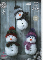 King Cole 9030 - Tinsel Snowman - Product picture