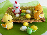 Product pictures Easter Chicklet and Ducklings by AramisvonK at http://thepatternfactory.net