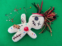 """Celeste, the friendly Voodoo-Doll"" Amigurumi Crochet Pattern Product picture"