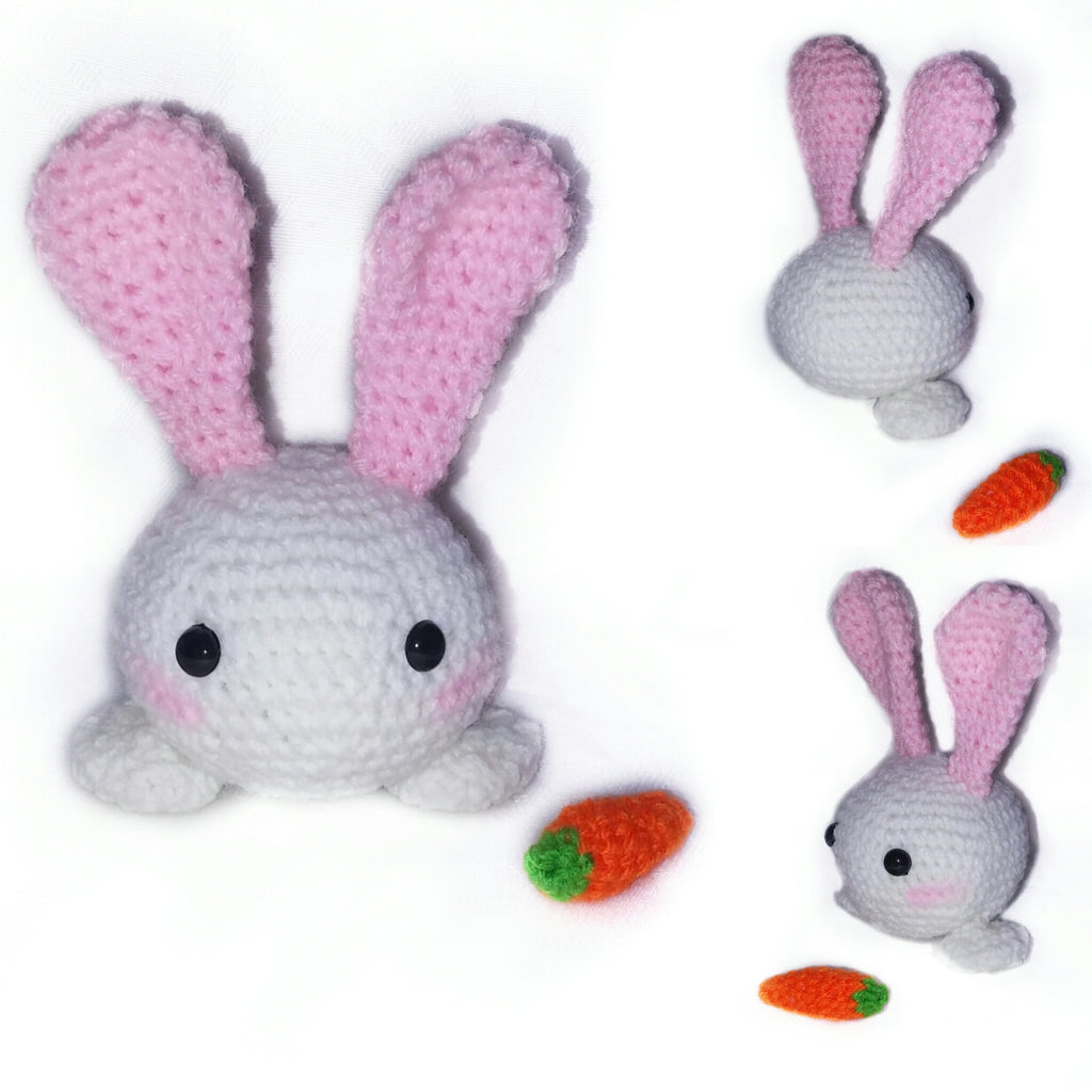 Product Picture Crochet pattern of little rabbit by Ternura Amigurumi at http://thepatternfactory.net