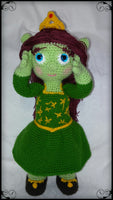 Product Picture Crochet pattern Princess Fiona (Shrek) by Ternura Amigurumi at http://thepatternfactory.net