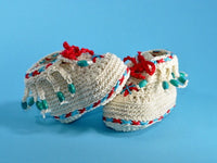 Babyshoe Moccasins baby crochet Pattern - Product picture - lucygurumi