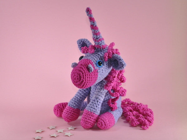 Unicorn sugar Amigurumi Crochet Pattern - lucygurumi - product picture
