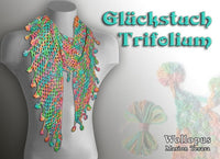 Lucky Scarf Trifolium - crochet scarf - product picture - Wollopus - knitting pattern