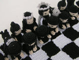 "Product picture Crochet Pattern Chess No. II ""Samurai""  by Lucygurumi at http://thepatternfactory.net"