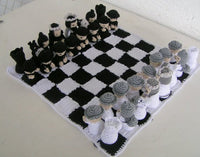 Product picture Crochet Pattern Chess No. II