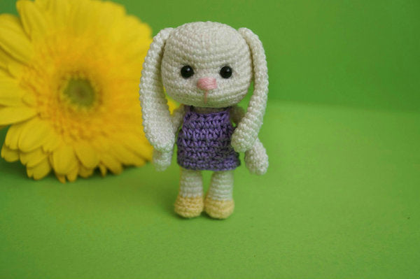 "Product picture Crochet Pattern Keychain ""Mily"" by Lea Leem at http://thepatternfactory.net"