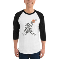 Space Jump - 3/4 sleeve raglan shirt