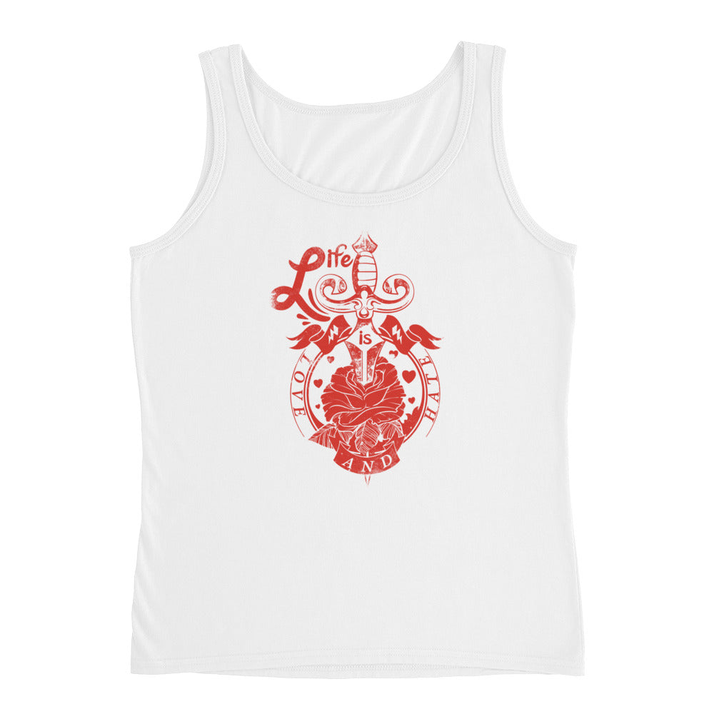 Life is Love and Hate - Ladies' Tank