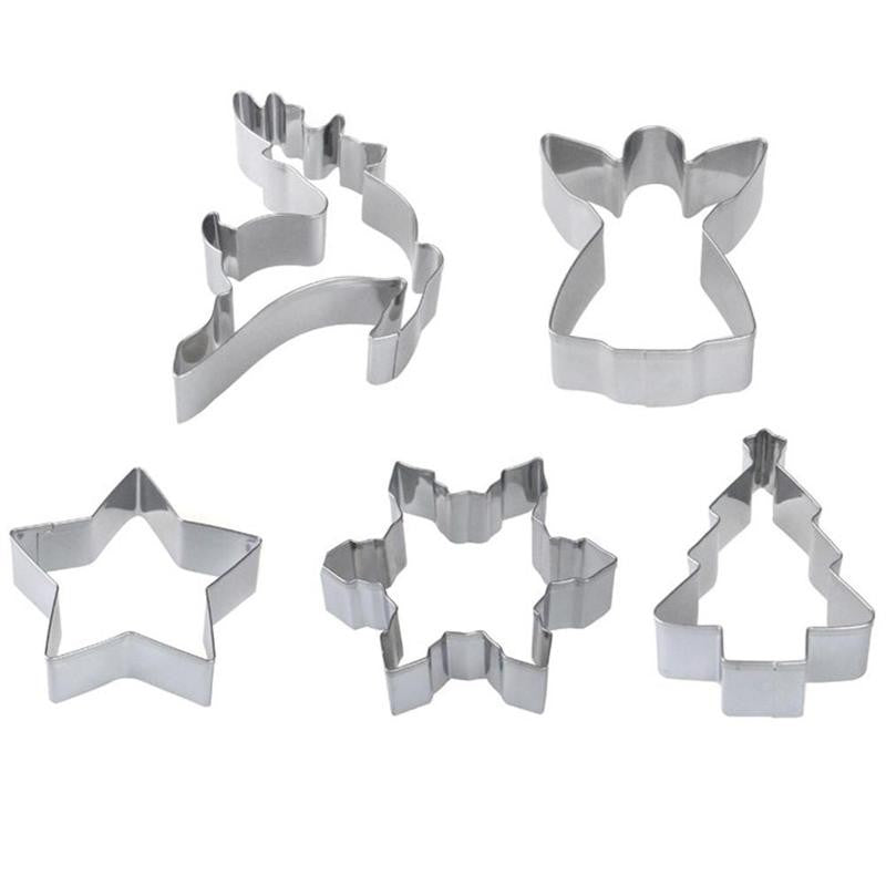 Halloween Pumpkin Witch Cookies Cutter Stainless Steel Fondant Cake Pastry Mould Biscuit Mold Christams DIY Baking Tool