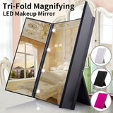 Led Light-Emitting Mirror Folding Mirror