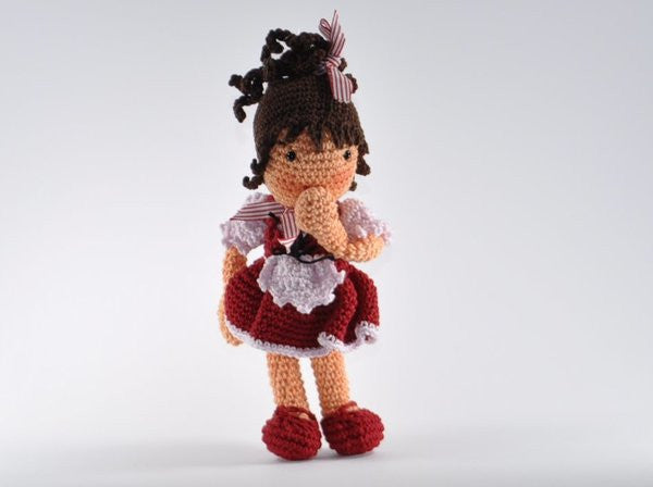 Doll Lisa - Amigurumi Crochet - lucygurumi - Product picture