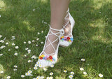 Product picture Crochet Pattern Summer shoes by LeaLeem at http://thepatternfactory.net