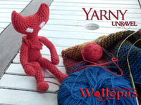crochet yarny from Unravel - Product picture - wollopus - crochet pattern