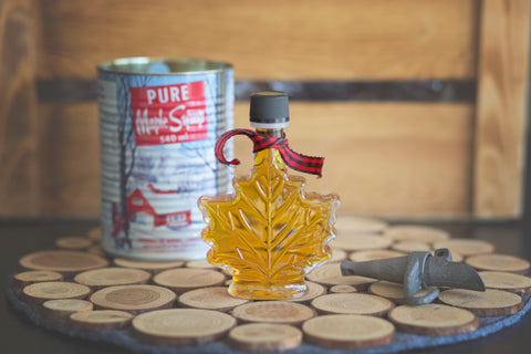 Maple shape bottle