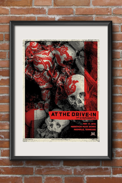 At The Drive-In Screen Print