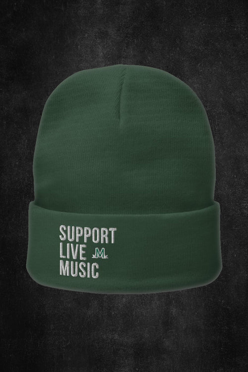 Support Live Music Beanie