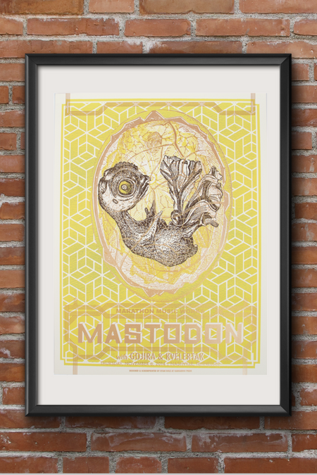 Mastodon Screen Print