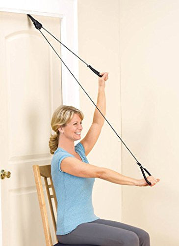 Marvelous Over The Door Pulley Exerciser