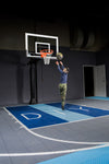 "Basketball Court Kit - Half Court 35'9"" x 29'11"" (H6) - DIY Court Canada"