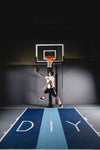 "Basketball Court Kit - Full Court 51'0"" x 83'11"" (F13) - DIY Court Canada"