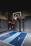 "Basketball Court Kit - Half Court 30'9"" x 28'2"" (H4) - DIY Court Canada"