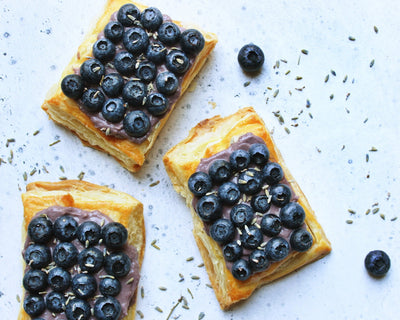 Blueberry Puff Pastries