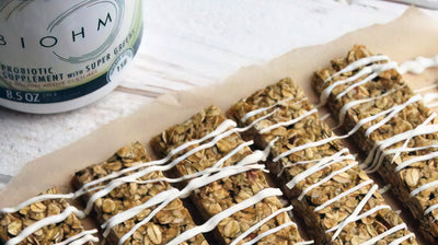 Probiotic Super Green Granola Bars