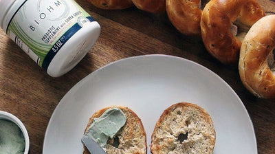 Super Greens Bagel Spread
