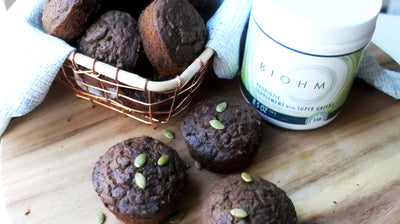 Power Chocolate Zucchini Muffins