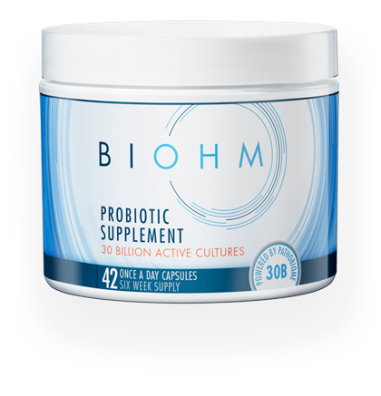 BIOHM Whole Probiotic Supplement