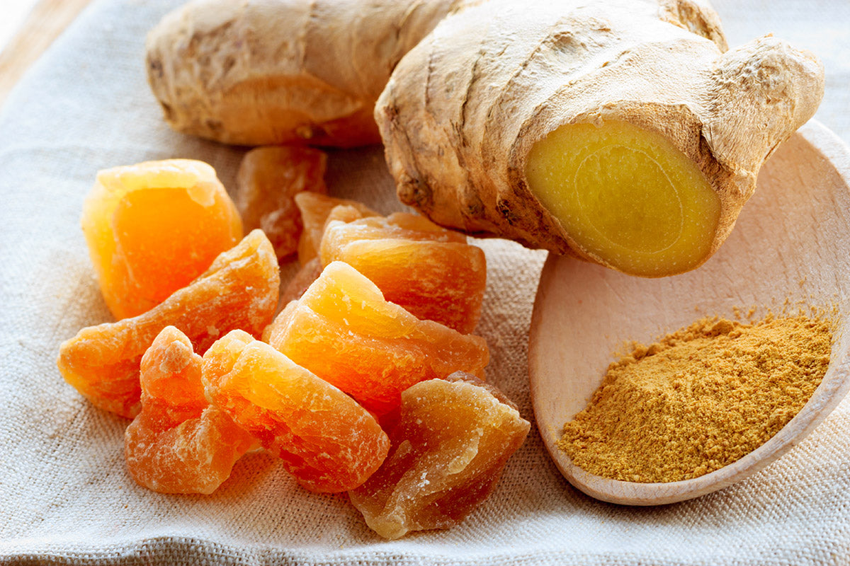 ginger is a natural anti-inflammatory food