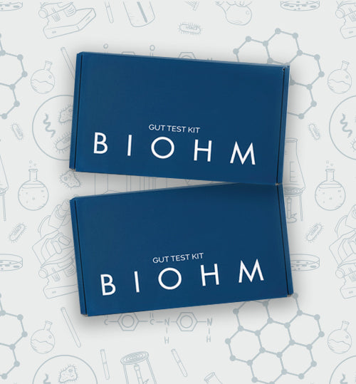 <b>The BIOHM Gut Test</b>