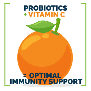 Optimal Immunity Probiotic Vitamin C Supplement