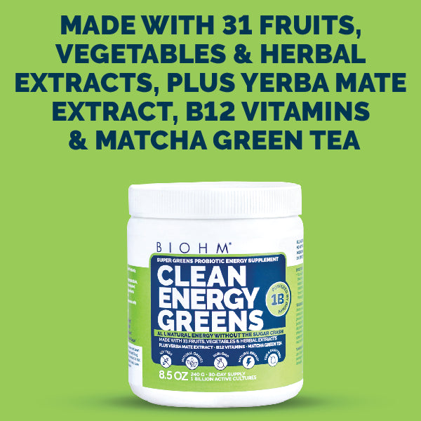 20% OFF - Clean Energy Greens
