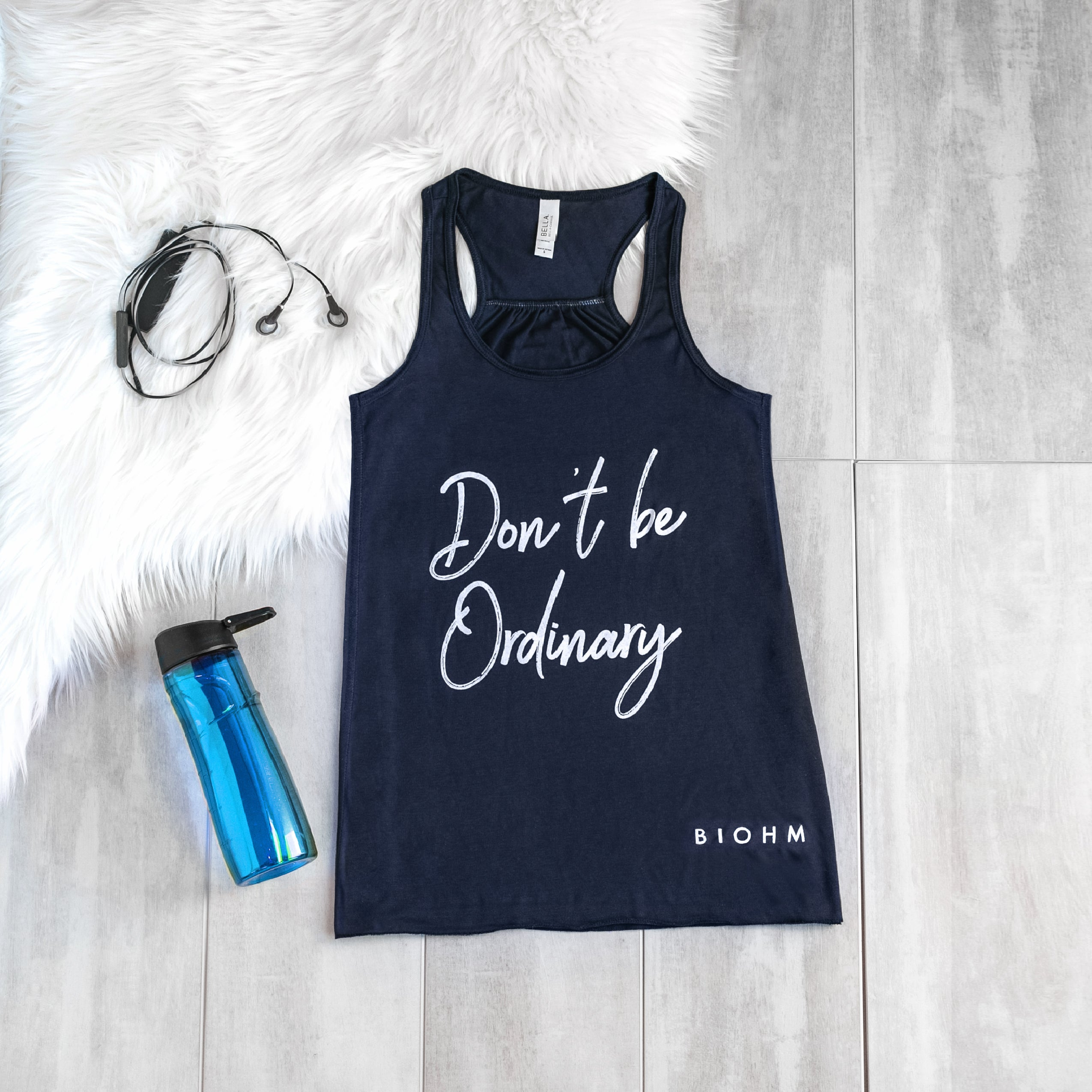 BIOHM Don't Be Ordinary Tank