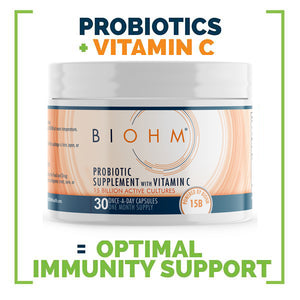 Optimal Immunity Probiotic Supplement